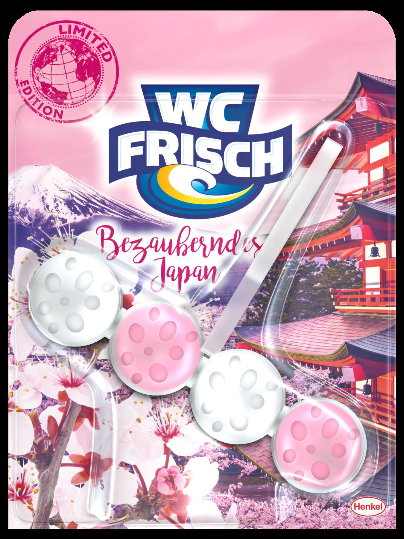 Die neue WC Frisch Limited Edition mit der Version Bezauberndes Japan
