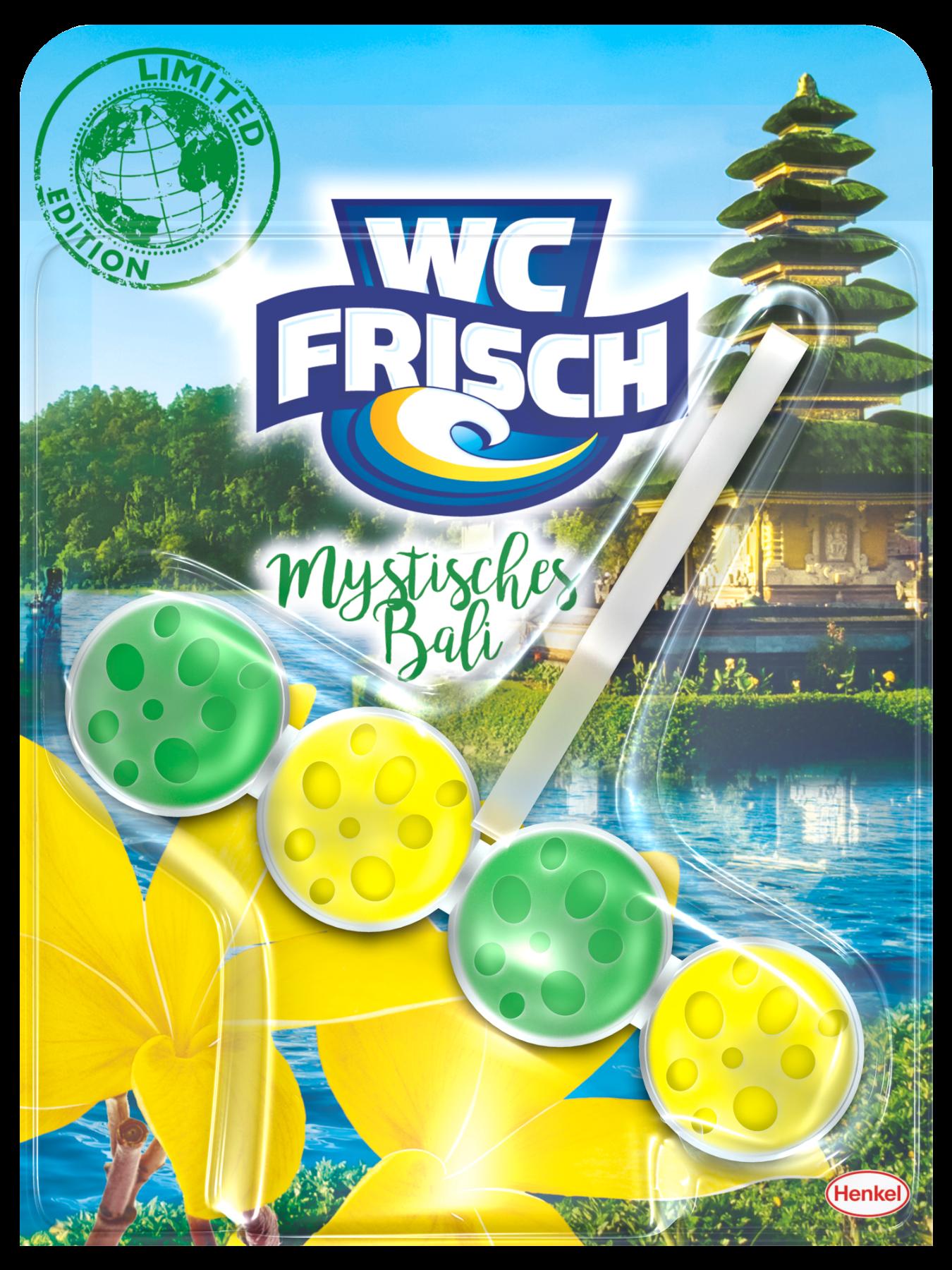 Die neue WC Frisch Limited Edition mit der Version Mystisches Bali