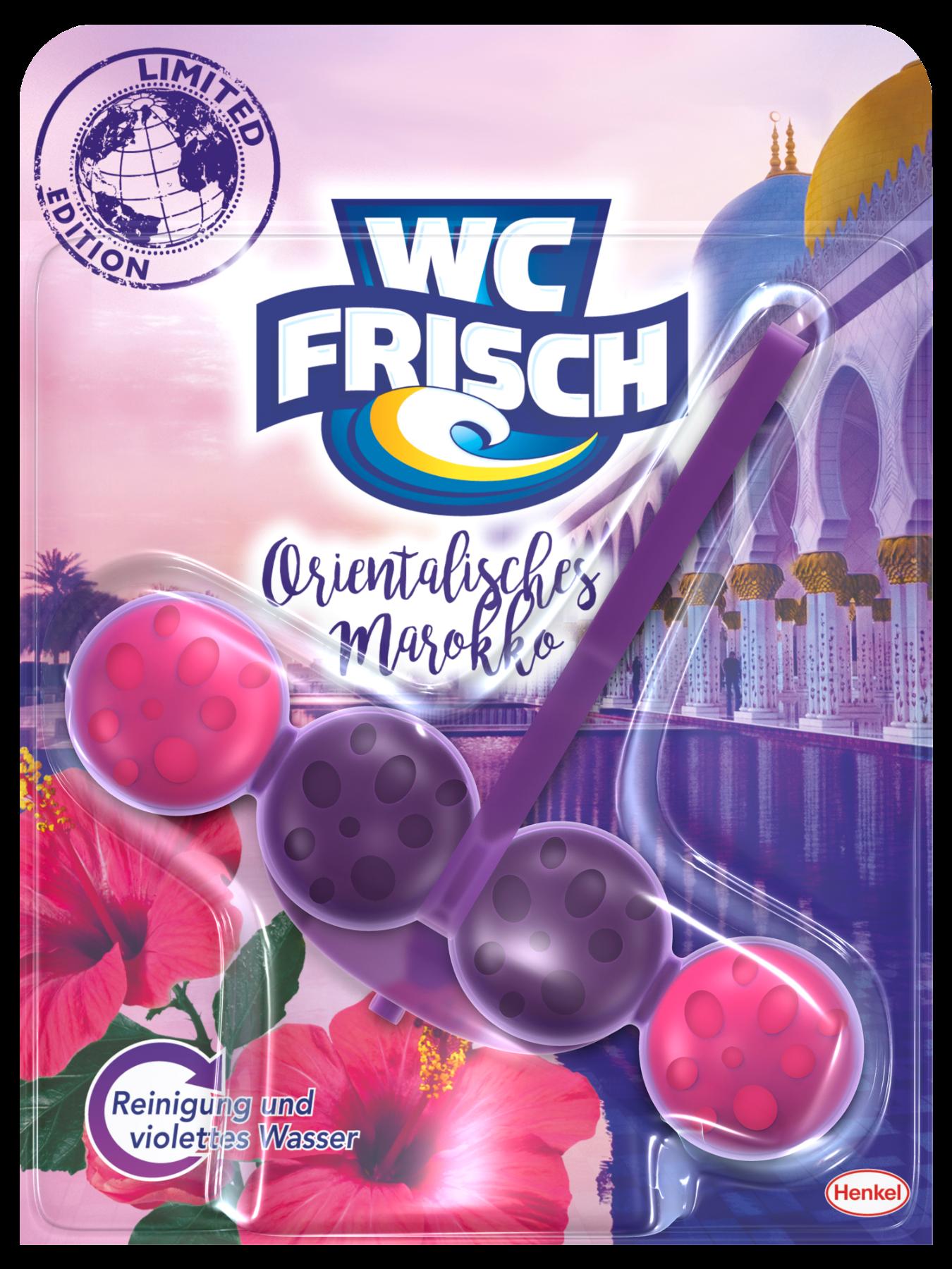 Die neue WC Frisch Limited Edition mit der Version Orientalisches Marokko