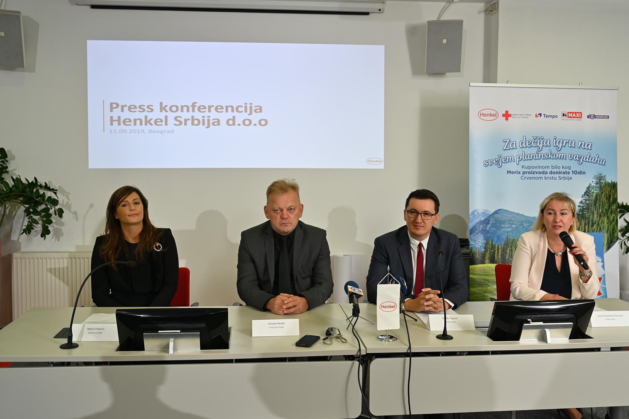 Konferencija za medije kompanija Henkel