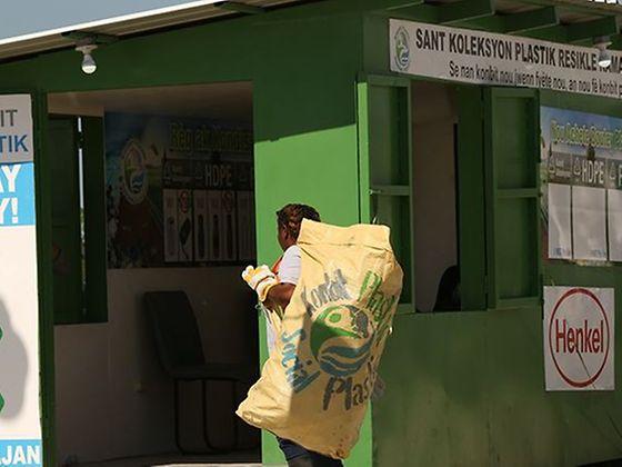 Henkel Partnerschaft mit Plastic Bank