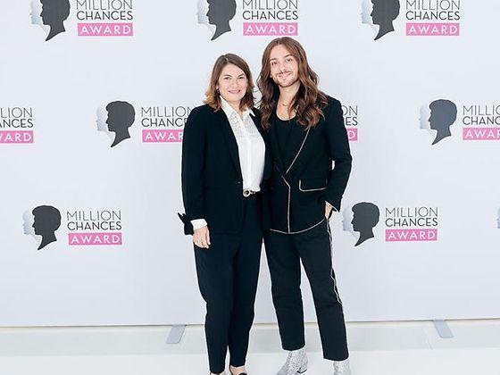 Million Chances Awards: Sylvie Nicol und Riccardo Simonetti