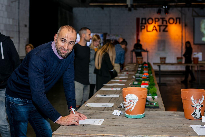 Moment humanitarna aukcija - Predrag Armuš, Generalni direktor sektora Adhezivi Tehnologije Henkel Srbija
