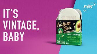 Launch Nature Box Festes Shampoo und Feste Duschpflege