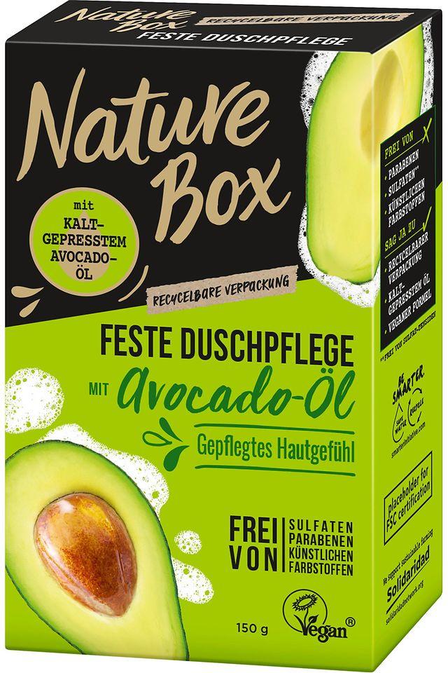 Nature Box Feste Duschpflege Avocado-Öl