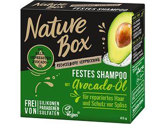 Nature Box Festes Shampoo Avocado-Öl