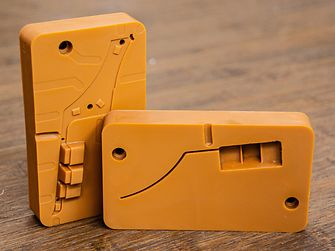 A 3D printed tool by Fortify which is used to mold an automotive part