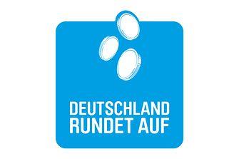 """Logo """"Deutschland rundet auf"""""""