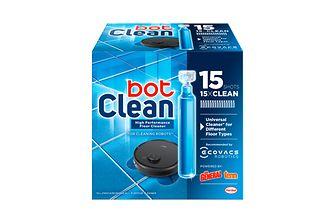 Das neue BotClean Ecovacs Reinigungsmittel.