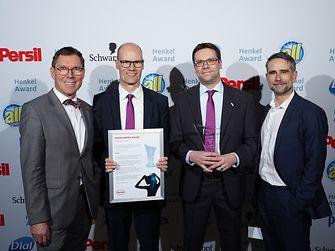 Sustainability Award Beauty Care / Evonik (winner): Thomas Förster, Tammo Boinowitz, Oliver Wittlake, Thomas Welß