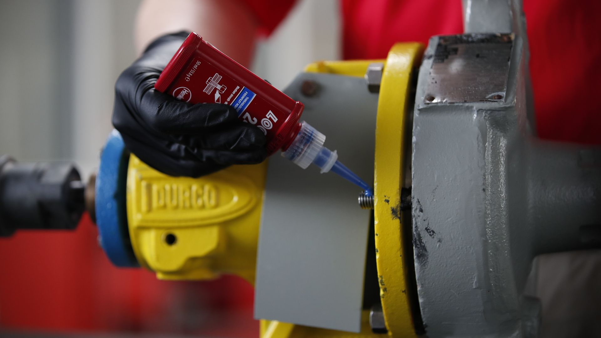 Some of Loctite's best-known adhesive solutions are threadlockers, which prevent screws and bolts from loosening.