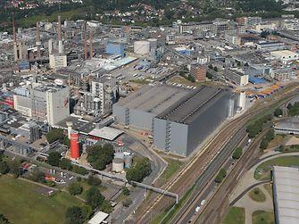 Zentrallager Laundry & Home Care am Standort in Düsseldorf (Deutschland)