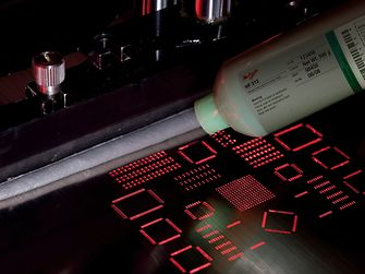 The halogen-free, lead-free solder paste Loctite Multicore HF 212 is ideal for today's high-value PCB assemblies.