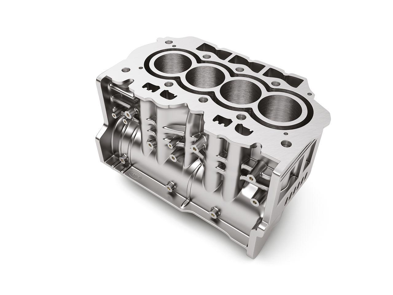 Mithilfe des Schmiermittelkonzentrats Bonderite L-CA CP 791 lassen sich aus Aluminium gegossene Leichtbauteile reibungslos aus der Gussform entfernen