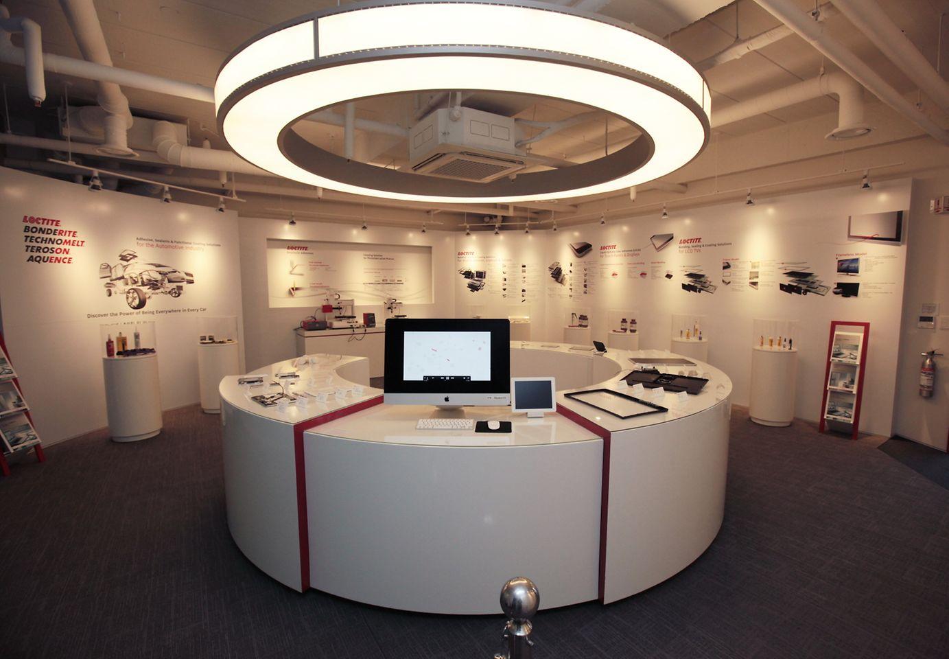 Showroom of Henkel Korea Technical Center
