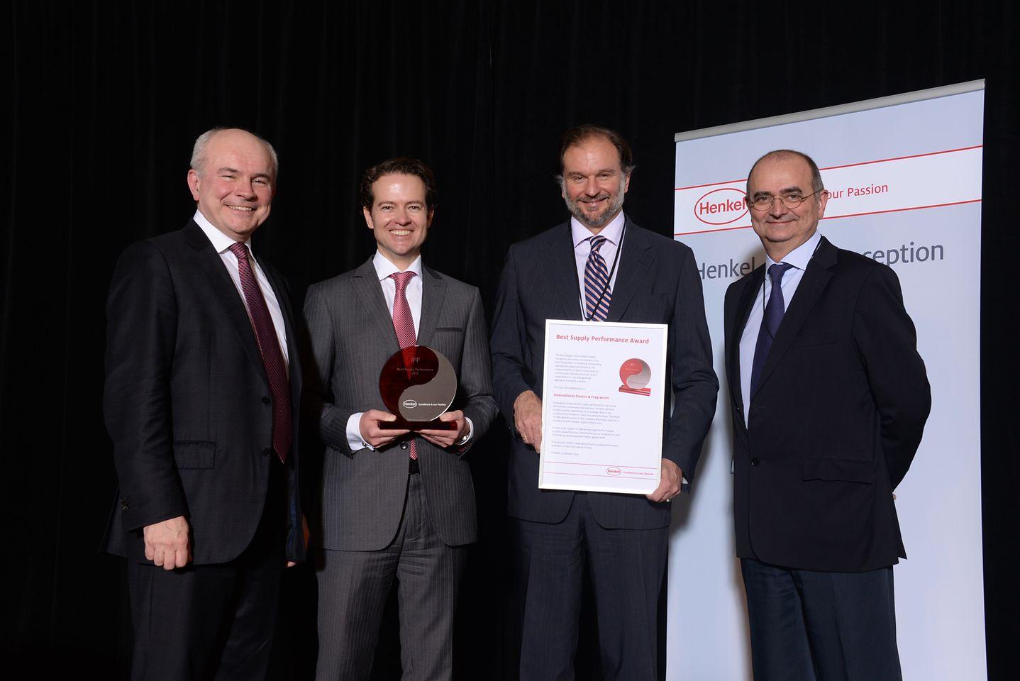 Bertrand Conquéret, Axel Schröter, Nicolas Mirzayantz, Jean-François Dupont