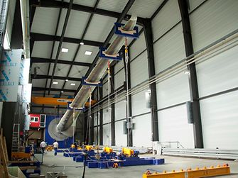 An ENERCON rotor blade manufactured using Macroplast UK 1340 underwent an endurance test at the Fraunhofer Institute