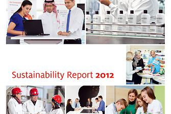 Cover: Sustainabiltiy Report 2012