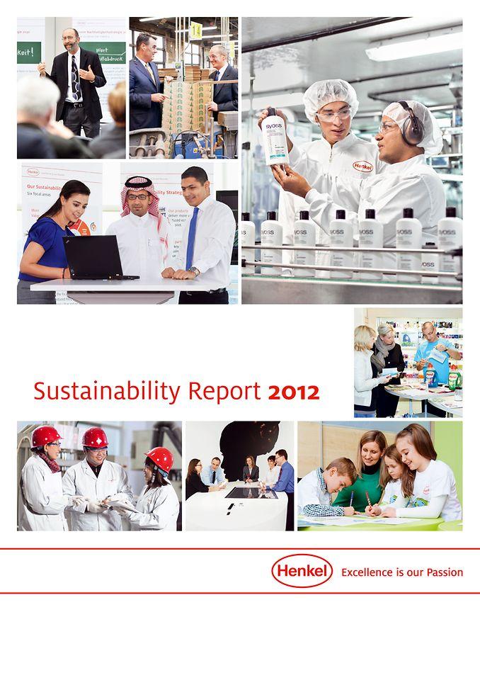 Cover: Sustainabiltiy Report 2012