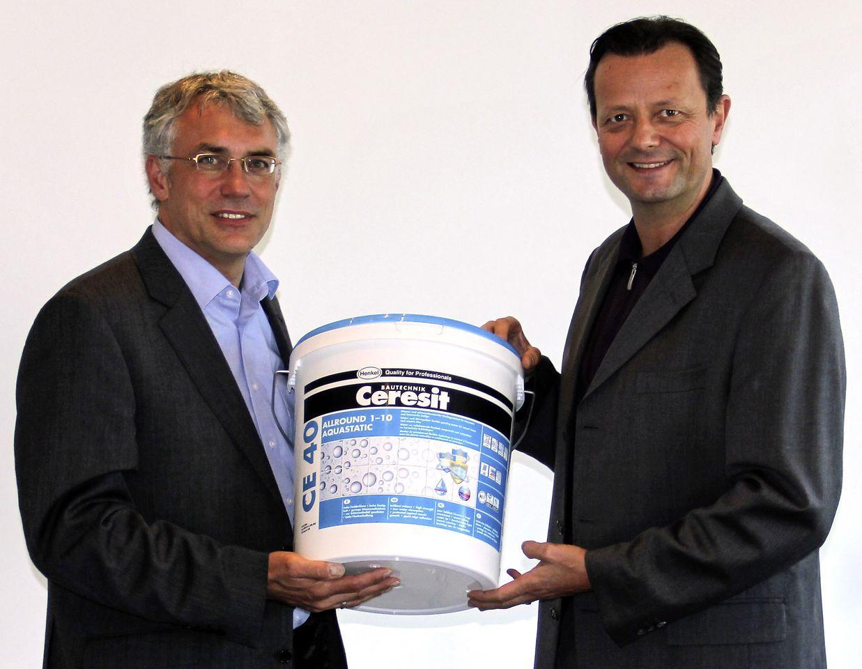 Holger Klomp und Diethardt Lang, Ceresit Feinfuge CE 40 Allround 1-10 Aquastatic