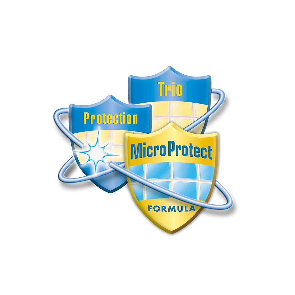 Bei der Trio-Protect-Technologie aus der Henkel-Forschung