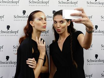 Schwarzkopf Professional hairdressers had the opportunity to demonstrate their skills