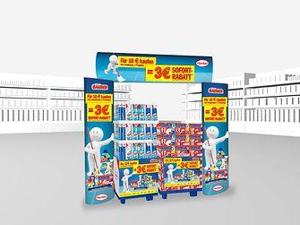 Landen mindestens drei der ausgewählten Henkel-Produkte mit einem Mindesteinkaufswert von zehn Euro im Einkaufswagen, zahlen Verbraucher bei Vorlage des Rabatt-Coupons an der Kasse drei Euro weniger