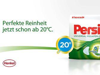 Seit Montag, den 25. Februar, ist der neue TV-Spot für Persil on air und präsentiert die 20 Grad-Leuchtkraft-Formel.