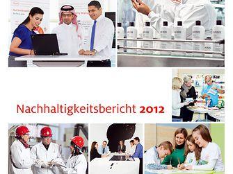 Titelbild: Nachhaltigkeitsbericht 2012