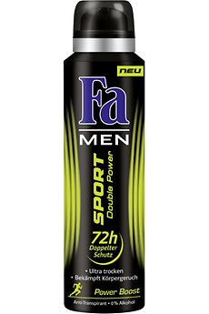 Fa Deospray Men Sport Double Power Power Boost
