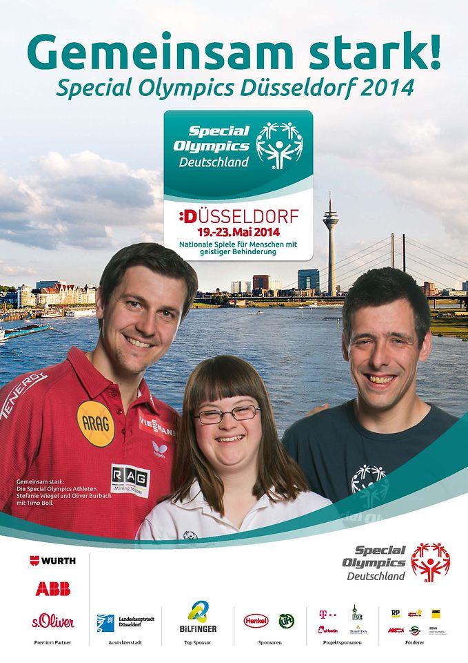 Henkel wird Sponsor der Special Olympics Düsseldorf 2014