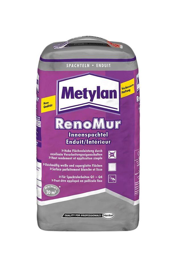 Der neue Metylan RenoMur Innenspachtel mit verbesserter Rezeptur