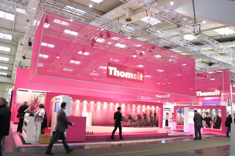 Der Thomsit-Stand 2012 von außen