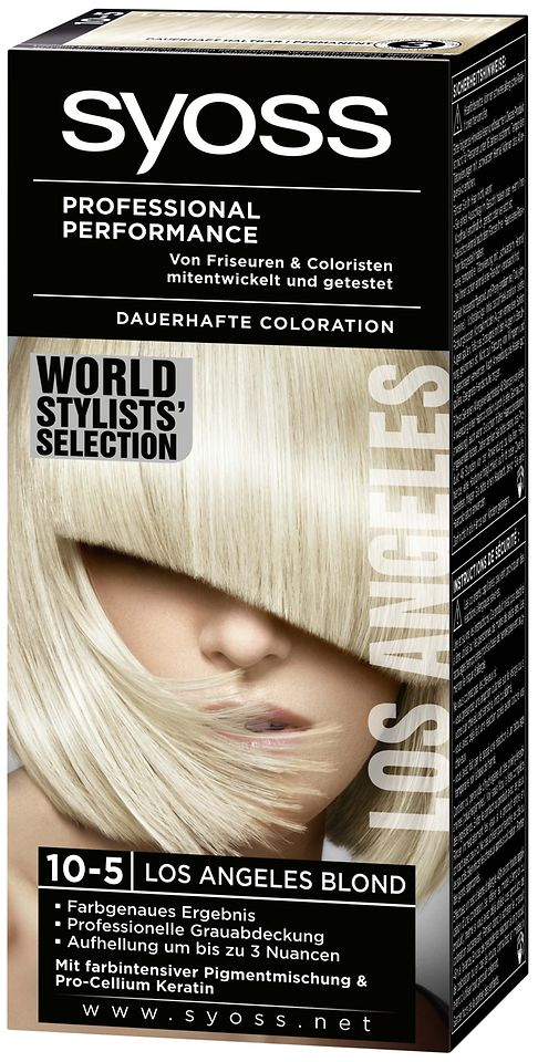 Syoss World Stylists´ Selection 10-5 Los Angeles Blond
