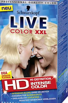 Live Color XXL HD 00 Absolute Platinum