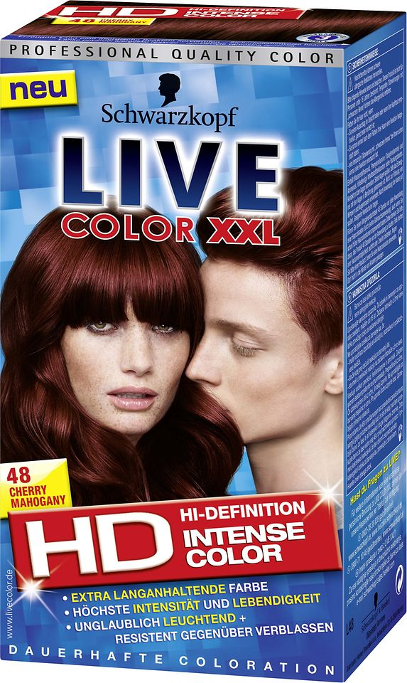 Live Color XXL HD 48 Cherry Mahogany