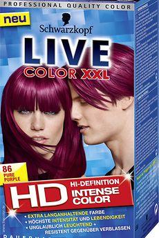 Live Color XXL HD 86 Pure Purple