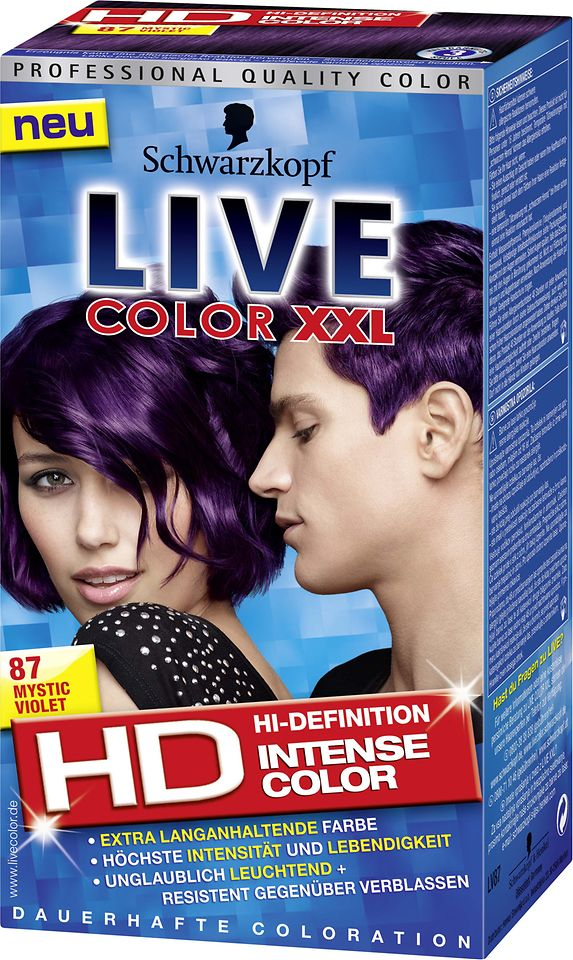 Live Color XXL HD 87 Mystic Violet