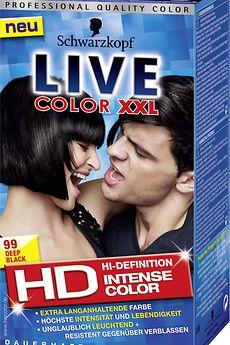 Live Color XXL HD L99 Deep Black
