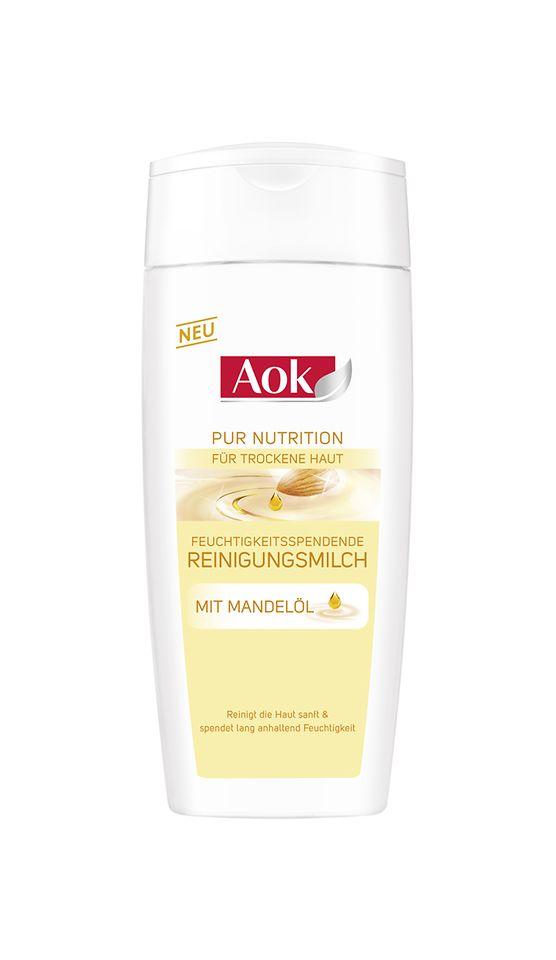 Aok Pur Nutrition Feuchtigkeitsspendende Reinigungsmilch