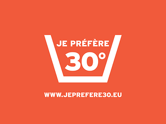"""I prefer 30°"" is an initiative of the detergents industry"