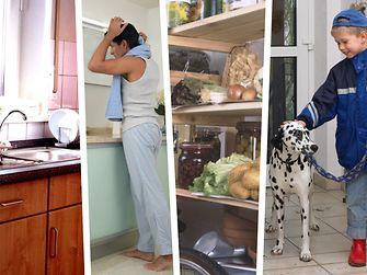 Mit dem Ceresit Luftentfeuchter AERO 360° kann die Luftfeuchtigkeit von der Küche bis in den Keller optimal reguliert werden