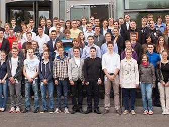 Freuen sich auf die neuen Herausforderungen bei Henkel: 117 neue Auszubildende