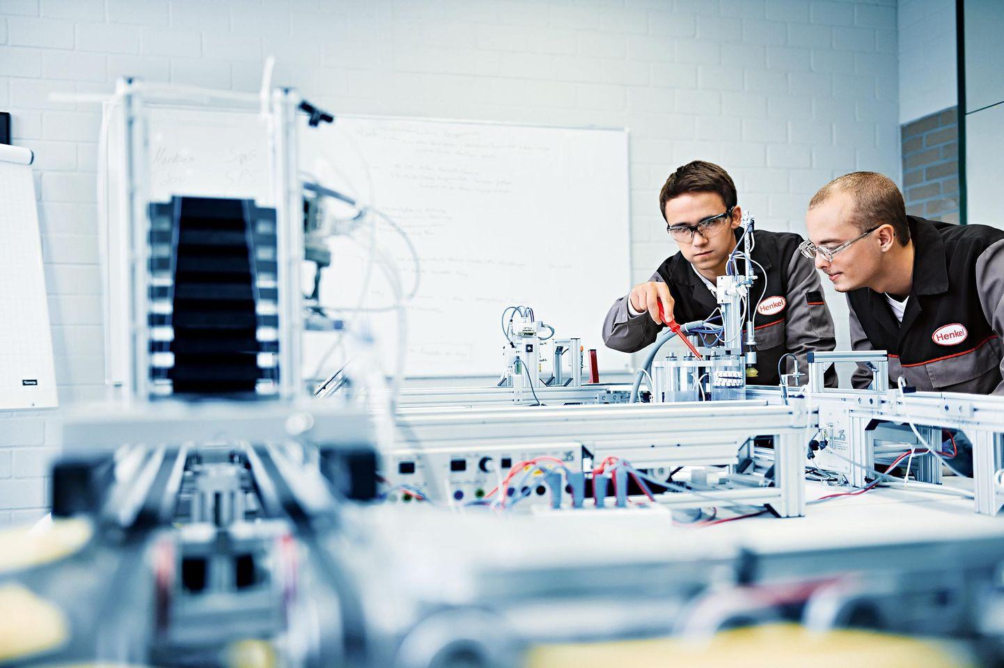 Ausbildung bei Henkel: Stark im Team