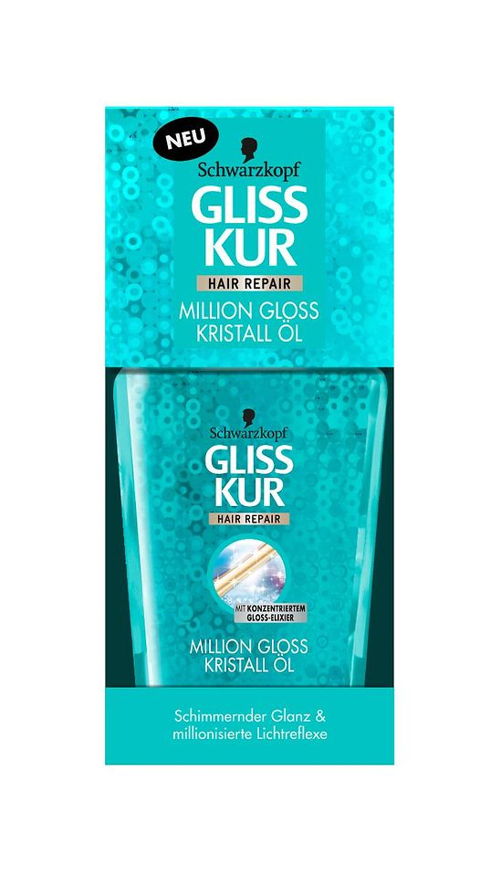 Gliss Kur Million Gloss Kristall Öl