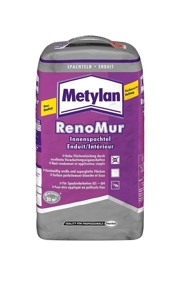 Metylan RenoMur Innenspachtel mit verbesserter Rezeptur