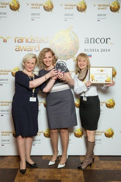 "Henkel received the Randstad Award as ""Most Attractive Employer"" in Russia"