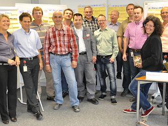 Das Ideenmanagement arbeitet eng mit den jeweiligen Abteilungen von Henkel zusammen und unterstützt die gezielte Ideengenierung, wie hier im Rahmen eines Workshops