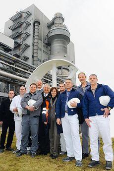 Nachhaltig und effizient: Mit der Idee, bei der Reinigung des Sprühturms in der Waschmittelproduktion auf Frischwasser und Druckluft zu verzichten, optimierten neun Mitarbeiter den Reinigungsprozess und trugen zur Nachhaltigkeitsstrategie von Henkel bei