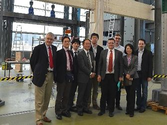 our representatives from the Japanese government spoke to Henkel experts about using bonded timber construction to strengthen earthquake protection.